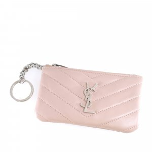 YSL Monogram Leather Coin Pouch