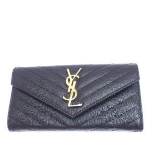 YSL Monogram Leather Wallet