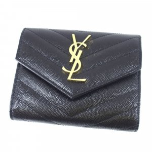 YSL Monogram V Stitch Wallet