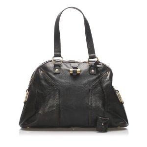 YSL Muse Patent Leather Handbag