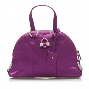 YSL Muse Satin Handbag
