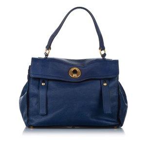 YSL Muse Two Leather Shoulder Bag