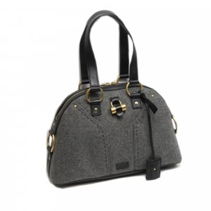 YSL Muse Wool Handbag