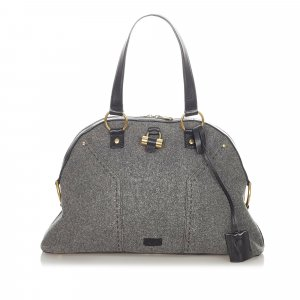 YSL Muse Wool Shoulder Bag