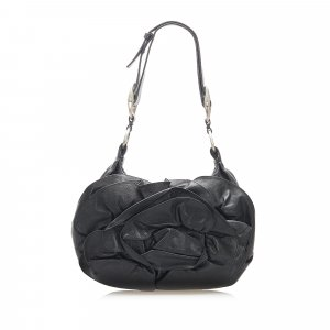 YSL Nadia Leather Shoulder Bag
