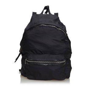 Yves Saint Laurent Rugzak zwart Nylon