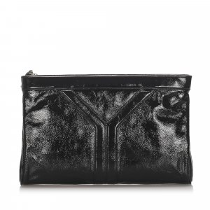 YSL Patent Leather Clutch Bag