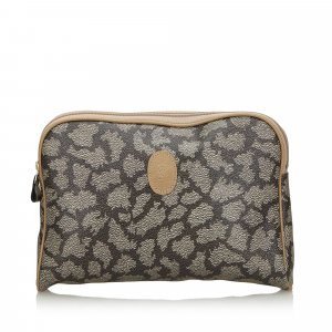 YSL Printed Clutch Bag