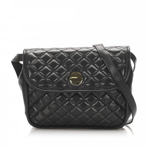 YSL Quilted Leather Crossbody Bag