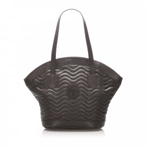 YSL Quilted Leather Tote Bag