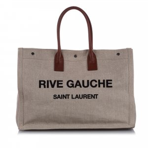 YSL Rive Gauche Noe Canvas Tote Bag