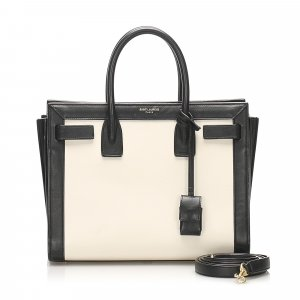 YSL Sac de Jour Leather Satchel
