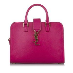 Yves Saint Laurent Satchel pink leather