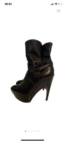 YSL Stiefeletten Boots Leder 37
