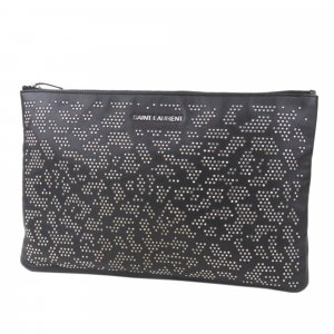 Yves Saint Laurent Borsa clutch nero Pelle