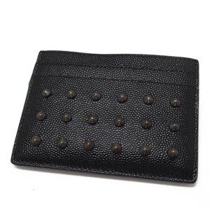 YSL Studded Leather Card Holder