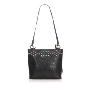 YSL Studded Leather Shoulder Bag