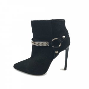 YSL Suede Ankle Boot