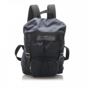 YSL Utilitarian Hunting Canvas Backpack