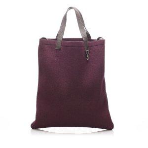YSL Wool Tote Bag