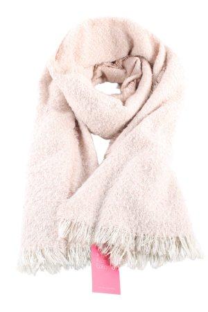 YSTRDY Écharpe en tricot rose style décontracté