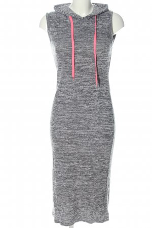 yu&me Hooded Dress light grey-pink flecked casual look