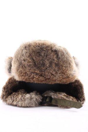 Yukon Fur Hat khaki casual look