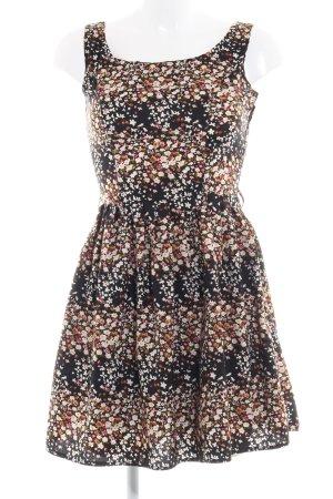 Yumi A Line Dress flower pattern