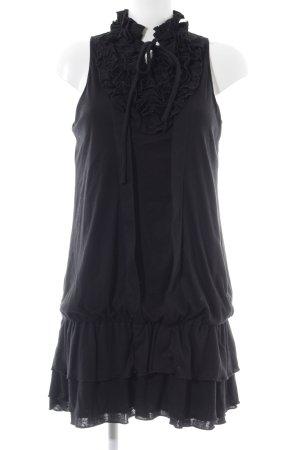 Yumi Ballonjurk zwart elegant