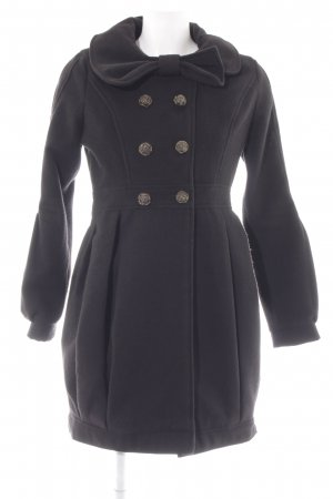 Yumi Pea Jacket black elegant