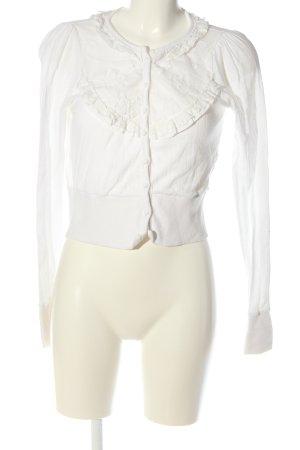 Yumi Cardigan blanc style décontracté