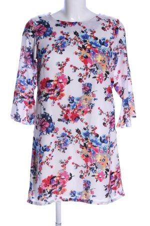 Yumi Szyfonowa sukienka Na całej powierzchni W stylu biznesowym