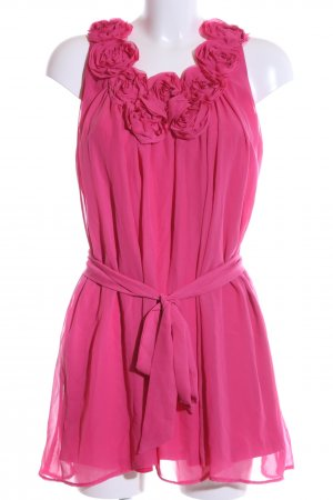 Yumi Chiffonkleid pink Casual-Look