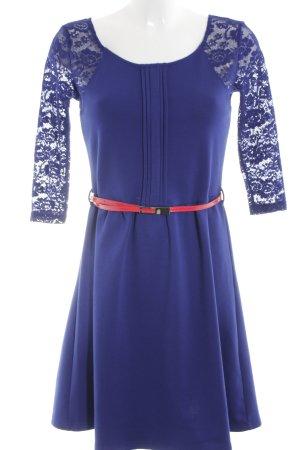 Yumi Cocktail Dress blue-red elegant