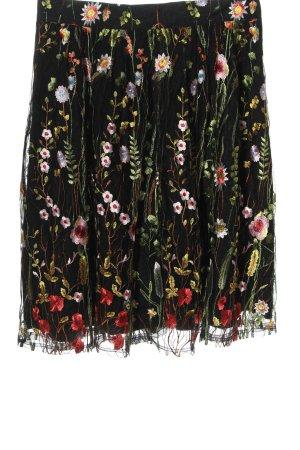 Yumi Rozkloszowana spódnica Wzór w kwiaty Elegancki