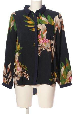 Yumi Hemd-Bluse Blumenmuster Casual-Look