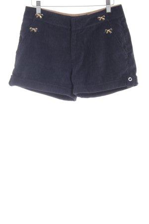 Yumi Krótkie szorty ciemnoniebieski W stylu casual