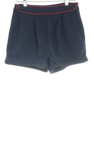Yumi Krótkie szorty ciemnoniebieski-ciemnoczerwony W stylu casual