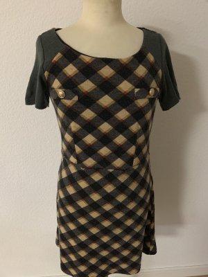 Yumi Wełniana sukienka Wielokolorowy