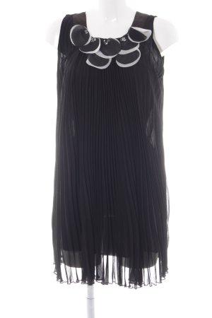 Yumi Shortsleeve Dress black-white elegant