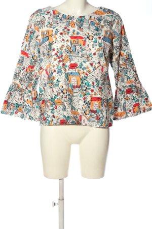 Yumi Bluzka z długim rękawem Na całej powierzchni W stylu casual