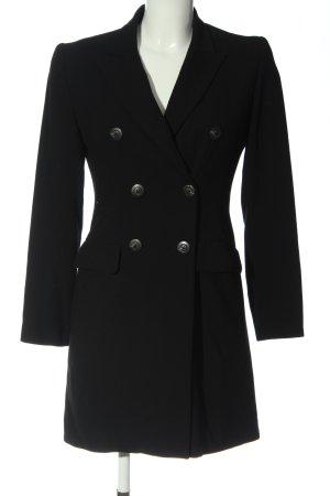 YUMI MAZAO Long-Blazer schwarz Business-Look