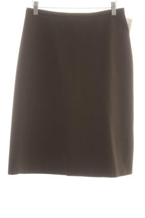 YUMI MAZAO Rock khaki-dunkelgrün schlichter Stil