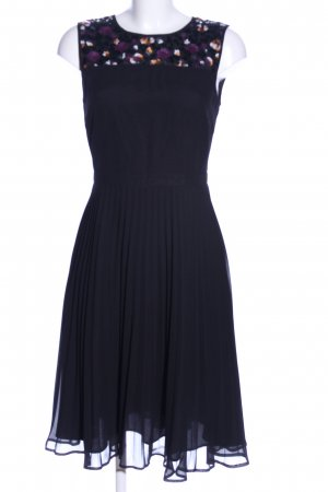 Yumi Sukienka midi czarny Abstrakcyjny wzór Elegancki