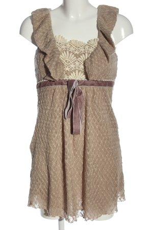 Yumi Sukienka mini Łączone wzory W stylu casual
