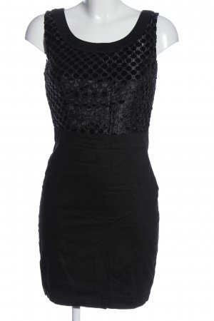Yumi Minikleid schwarz Punktemuster Elegant