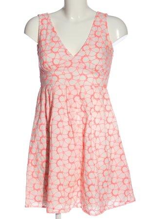 Yumi Mini Dress white-pink casual look