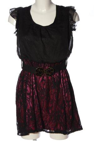Yumi Minikleid schwarz-rot Elegant