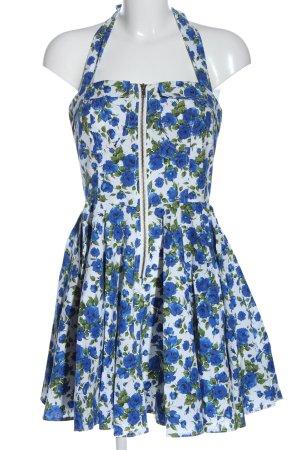 Yumi Sukienka z dekoltem typu halter Na całej powierzchni Elegancki