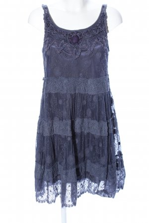Yumi Lace Dress blue elegant